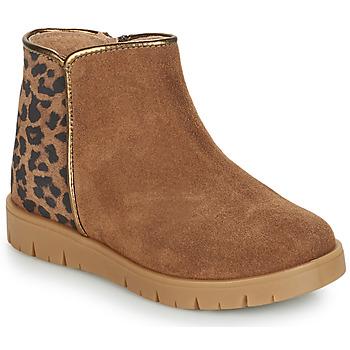 Schuhe Mädchen Boots André SAVANNAH Camel