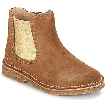 Schuhe Mädchen Boots André CANNELLE Camel