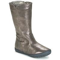 Schuhe Mädchen Klassische Stiefel André SCINTILLANTE Silbern