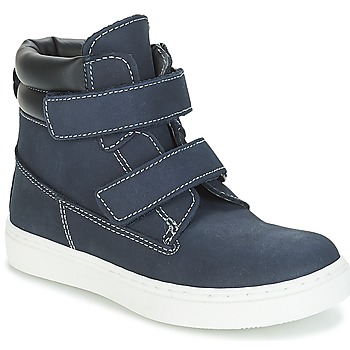 Schuhe Jungen Boots André ALESSIO Marine
