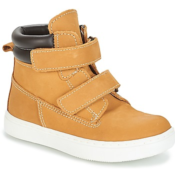 Schuhe Jungen Boots André ALESSIO Camel