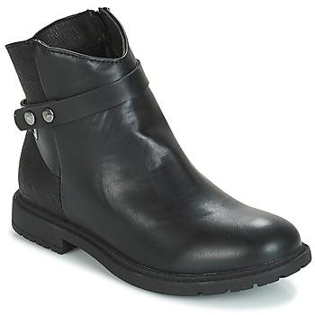Schuhe Mädchen Boots André LOELIE Schwarz