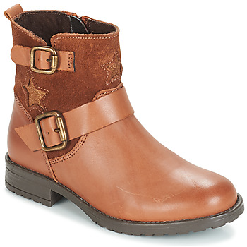 Schuhe Mädchen Boots André COUNTRY GIRL Camel