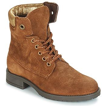 Schuhe Mädchen Boots André KATE Camel