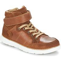 Schuhe Jungen Boots André TOM Cognac