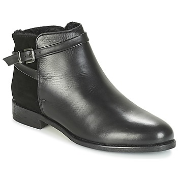 Schuhe Damen Boots André DUO Schwarz