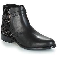 Schuhe Damen Boots André CAVIAR P Schwarz