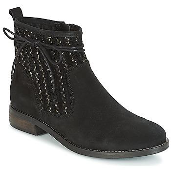 Schuhe Damen Boots André MEXICA Schwarz