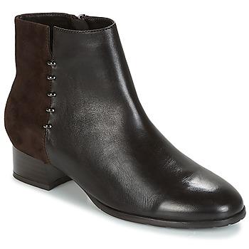Schuhe Damen Boots André CARLA Braun