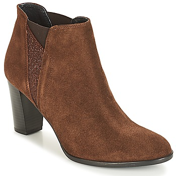 Schuhe Damen Low Boots André ROSACE Braun