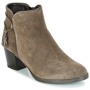 Schuhe Damen Low Boots André MISTINGUETTE Kaki