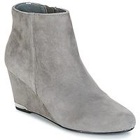Schuhe Damen Low Boots André NOEMIE Grau