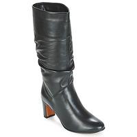 Schuhe Damen Klassische Stiefel André SARA Schwarz