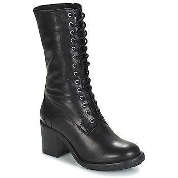 Schuhe Damen Klassische Stiefel André DARK Schwarz