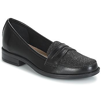 Schuhe Damen Slipper André LONG ISLAND Schwarz