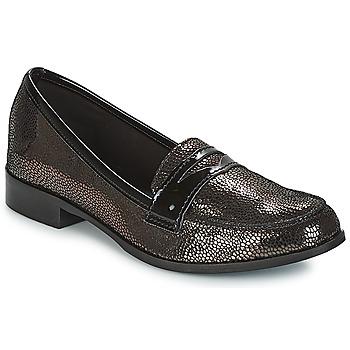 Schuhe Damen Slipper André JUPITER Goldfarben