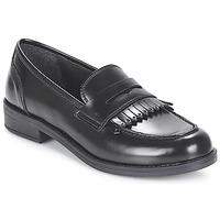 Schuhe Damen Slipper André MAEVA Schwarz