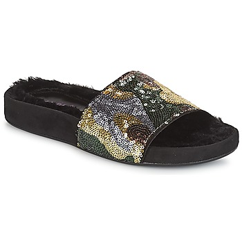 Schuhe Damen Pantoffel André ANTOINETTE Goldfarben