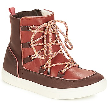 Schuhe Damen Boots André SNOW Braun