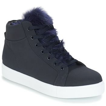 Schuhe Damen Sneaker High André GOSPEL Marine