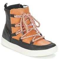 Schuhe Damen Boots André SNOW Camel