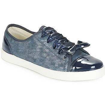 Schuhe Damen Sneaker Low André BOUTIQUE Blau