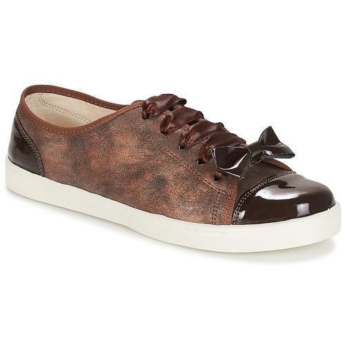 André BOUTIQUE Braun  Schuhe Sneaker Niedrig Damen 36