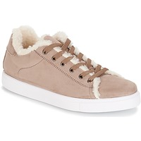 Schuhe Damen Sneaker Low André AWASSI Beige