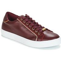 Schuhe Damen Sneaker Low André BERKELITA Bordeaux