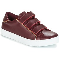 Schuhe Damen Sneaker Low André CRICKET Bordeaux