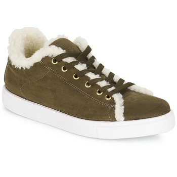 Schuhe Damen Sneaker Low André AWASSI Kaki