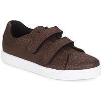 Schuhe Damen Sneaker Low André ECLAT Bronze
