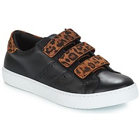 Schuhe Damen Sneaker Low André PADDLE Leopard