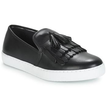 Schuhe Damen Slip on André NEO Schwarz