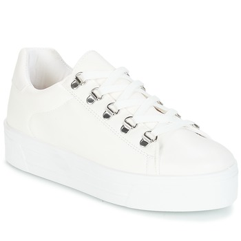 Schuhe Damen Sneaker Low André CROCHET Weiss