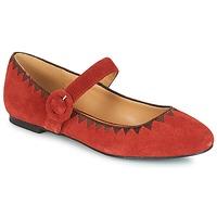 Schuhe Damen Ballerinas André ALBOROZA Rot