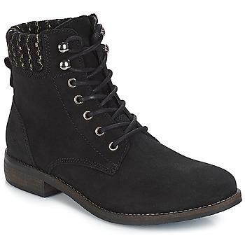 Schuhe Damen Boots André CARMINA Schwarz