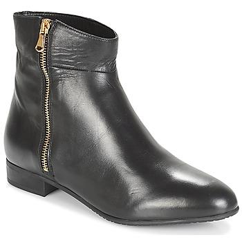 Schuhe Damen Boots André PIMENTO Schwarz