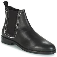 Schuhe Damen Boots André CARLOTA Schwarz