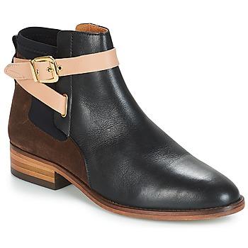 Schuhe Damen Boots André MONTANA Schwarz
