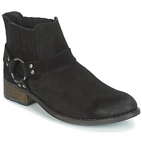 Schuhe Damen Boots André ELBA Schwarz