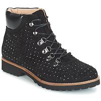 Schuhe Damen Boots André CALCEDOINE Schwarz