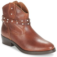 Schuhe Damen Boots André ARABELLA Braun