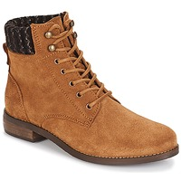 Schuhe Damen Boots André CARMINA Camel