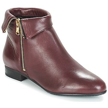 Schuhe Damen Boots André PIMENTO Bordeaux
