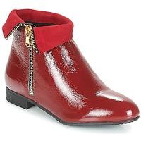 Schuhe Damen Boots André PIMENTO Rot