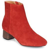 Schuhe Damen Low Boots André EUFORIA Rot