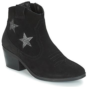 Schuhe Damen Low Boots André CELESTE Schwarz