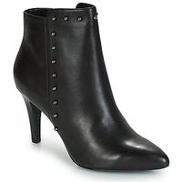 Schuhe Damen Low Boots André TEA Schwarz