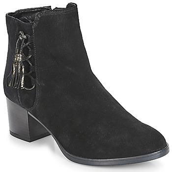 Schuhe Damen Boots André MISS Schwarz